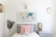 Our ever so popular detailed world map in the pinkish version. Our decals remove so easily and can be reused over and over for years with… Detailed World Map, World Map Poster, Kids Wall Decals, Kidsroom, Reuse, Kids Bedroom, Gallery Wall, How To Remove, Minimalist