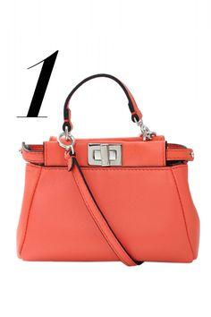 Fendi bag, $1,550, shopBAZAAR.com.   - HarpersBAZAAR.com