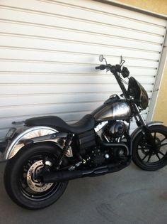 Harley Davidson, FXDB, Dyna, Harley Wheelies