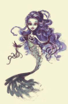 monster high sirena von boo fan art - Pesquisa Google