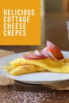 Cottage cheese is versatile! Mix up your morning with these cottage cheese crepes from our Dairy Diva. On the blog now! Cottage Cheese, Recipe Today, Crepes, Cravings, Diva, Tasty, Fresh, Breakfast, Blog