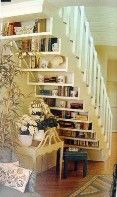 Stair Bookshelf!
