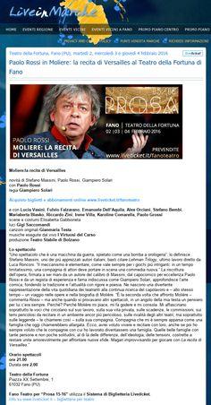 Live in Marche  16 ottobre 2015