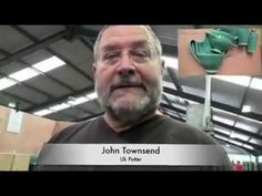 John Townsend potter interview. 5 min interview.