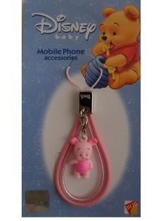 Piglet Cell Phone Charm by Winnie the Pooh. $4.95. Piglet Cell Phone Charm