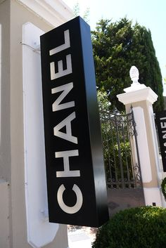 Here at Chanel, dropping in to pick up a few things...