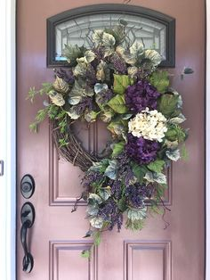 Hydrangea Wreath Sum