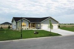 Morton Buildings use clear-span construction to offer open floor plans on its metal and steel frame homes. Learn about Morton's options and features here. Morton Homes, Morton Building Homes, Steel Building Homes, Steel Frame House, Steel House, Building A Pole Barn, Building A House, Building Ideas, Metal Home Kits