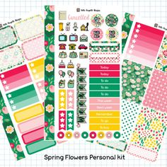 Beautiful planners, stickers, pens, washi and stationery from the best of UKPA Etsy shops