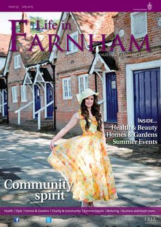 ~ Community spirit ~ Life in Farnham July 2015 Photo by featuring Farnham Surrey, Summer Events, Green Dress, Strapless Dress, Product Launch, Spirit, Community, Life, Beauty