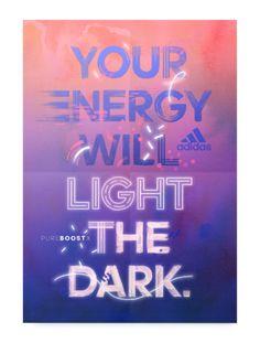 Studio Moross - Adidas PUREBOOSTX Poster