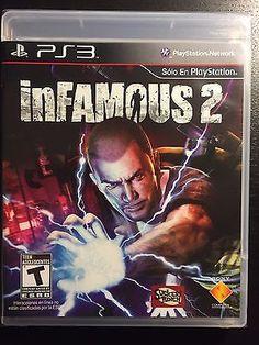 Infamous 2 PlayStation 3 Video Game T-Teen Sucker Punch Games Parkour Moves, Playstation, Infamous 2, Sucker Punch, New Video Games, Ebay Shopping, Ps3 Games, Suckers
