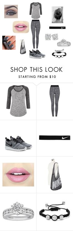 """""""Grey/ Read the d!!"""" by kayla-faber ❤ liked on Polyvore featuring maurices, Topshop, NIKE, NARS Cosmetics, Fiebiger, Tiffany & Co., Oxford Ivy, women's clothing, women's fashion and women"""