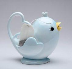 Appletree Design Blue Bird Teapot, 5-1/2-Inch by Appletree Design inc,  http://www.amazon.com/gp/product/B007S0MIO6?ie=UTF8=213733=393177=B007S0MIO6=shr=abacusonlines-20&=home-garden=1362183051=1-502=teapots+ceramic via @amazon