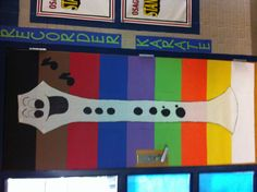 IDEA - Recorder Karate Door: Kids will move their names up the door as they earn their belts. Recorder Karate, Recorder Music, Music Classroom, Classroom Decor, Music Bulletin Boards, Music And Movement, Music School, Class Decoration, Music Activities