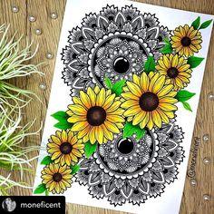 Easy Mandala Drawing, Mandala Art Lesson, Mandala Artwork, Cute Doodle Art, Doodle Art Designs, Doodle Art Drawing, Art Drawings Beautiful, Art Drawings Sketches Simple, Art Mini Toile