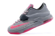 """http://www.jordan2u.com/for-sale-nike-kd-7-vii-calm-before-the-storm-greyhyper-punchlight-magnet-grey-on-sale.html Only$90.00 FOR SALE NIKE KD 7 (VII) """"CALM BEFORE THE STORM"""" GREY/HYPER PUNCH-LIGHT MAGNET GREY ON SALE Free Shipping!"""