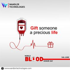 World Blood Donor Day - 14 June