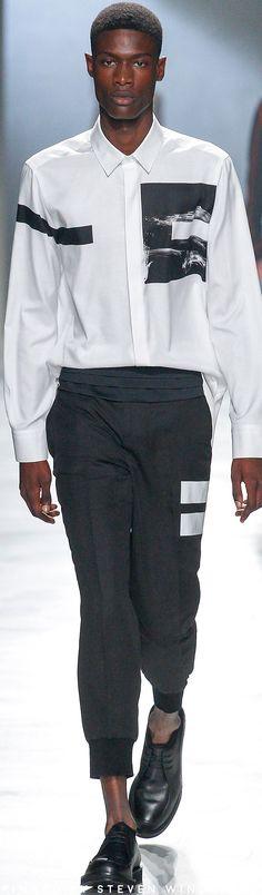 Neil Barrett Spring 2018 Fashion Show #spring2018 #menswear #ss18 #neilbarrett #shirt #shirts