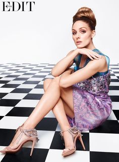 How Olivia Palermo Is Taking Over the Fashion World: Not surprisingly, Olivia Palermo's impeccable style is in her DNA — that's one of the first things we learn from the fashion darling's sit-down with The Edit, where she told the magazine her mother and grandmother are largely responsible for instilling in her an early awareness about her appearance.
