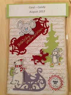 """Heikes Kreativseite: Card Candys zum Thema """" Weihnachten """" Candy Cards, Gift Cards, Advent Calendar, 3 D, Paper Crafts, Holiday Decor, Crafting, Gifts, Tags"""