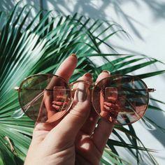 HOW TO WEAR Aviator Sunglasses // small shop by Erika Brechtel