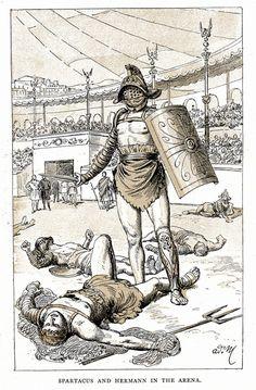 Escudos usados no Império Romano