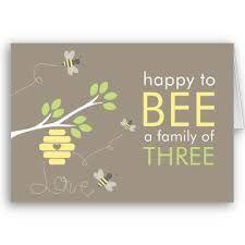 We noemen de baby tijdens de zwangerschap Bumblebee, misschien wel grappig om daar iets mee te doen.