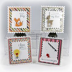 "Taylored Expressions ""Little Bits"" Mini Cards by Stephanie Kraft"