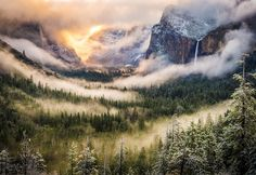 Yosemite National Park, California - USA.