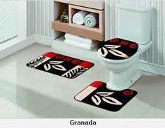 :::...Coisinhas da Greice...:::: Sugestões de jogos de banheiro e tapetes