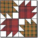 bear tracks free quilt block patterns