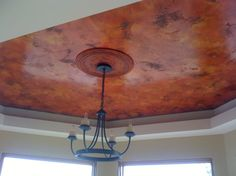 red and orange distressed carrara marmorino by Darrell Morrison    Added by Darrell Morrison
