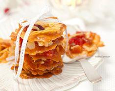 Florentynki - ciasteczka z migdałami, bez mąki Waffles, Breakfast, Food, Morning Coffee, Meal, Essen, Hoods, Meals, Waffle