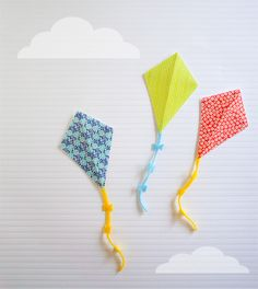 make your own kite party invitations