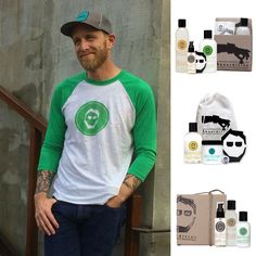 Gifts for the well groomed man under $50. Beard and shave products.