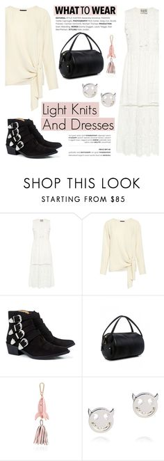 """What to Wear: Light Knits And Dresses"" by ifchic ❤ liked on Polyvore featuring Theory, Toga, 10 Crosby Derek Lam, Karen Walker, Ruifier and contemporary"
