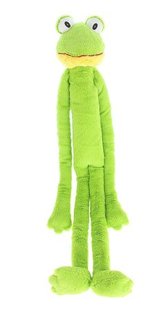 Multipet's Swingin Slevin XXL Oversized 30-Inch  Green Frog Plush Dog Toy * Learn more by visiting the image link. (This is an affiliate link) #DogChewToys