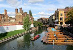 #Punting at #Cambridge