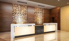 HGI Pavilion Reception Desk- LOVE