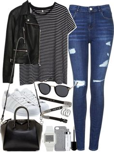 Style Selection Fashion Blog | Outfits and Advice • Outfit for shopping by ferned featuring a duffle...