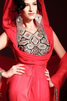Jean Paul Gaultier Spring 2012 Amy Winehouse inspired