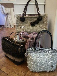 """Tris di borse...""""atelier sogno di Patti"""""""