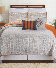 Take a look at this Haifa Five-Piece Quilt Set today!