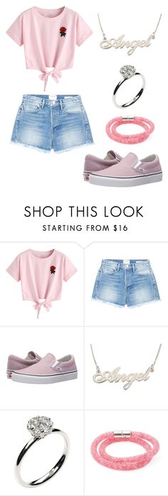 """""""Outfit ♡"""" by aincompleta on Polyvore featuring WithChic, Frame, Vans, Annoushka and Swarovski"""
