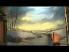 ▶ Painting a Winter Landscape in oils by Alan Kingwell - YouTube