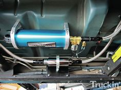 Canton Racing Products - Accusump - Pressurized Lubrication - Truckin' Magazine