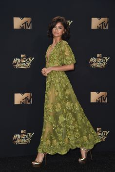 Zendaya in Zuhair Murad, 2017 MTV Movie Awards