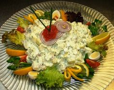 Austrian Recipes, Cold Dishes, Brunch Party, Salad Recipes, Potato Salad, Low Carb, Yummy Food, Meat, Chicken