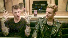 The hard rock band, Crown The Empire, talks about crazy stories from touring, while on tour with Hollywood Undead and I Prevail.